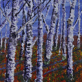Lori Kallay - Autumn Birch Stand