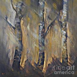 AmaS Art - Autumn Birches