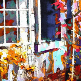 Barbara D Richards - Autumn Breeze Through Open Windows    Windows