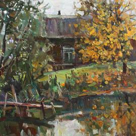 Juliya Zhukova - Autumn by the pond