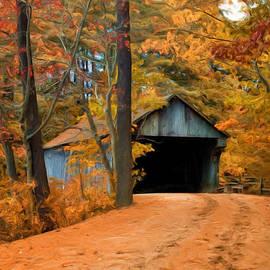 Joann Vitali - Autumn Covered Bridge