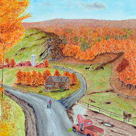 Ken Figurski - Autumn farm