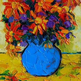 Mona Edulesco - Autumn Flowers