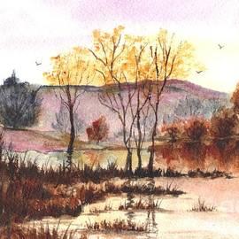 Carol Wisniewski - Sunset of Autumn Glory