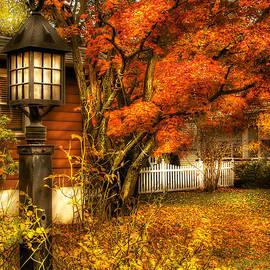 Mike Savad - Autumn - House - Autumn Light