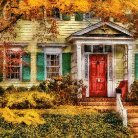 Mike Savad - Autumn - House - Local Suburbia