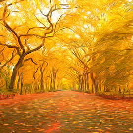 Veikko Suikkanen - Autumn in Central Park