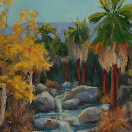 Maria Hunt - Indian Canyon After the Rain