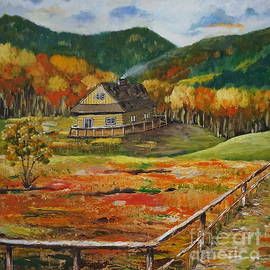 Halina Plewak - Autumn in Poland