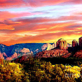 Dr Bob Johnston - Autumn in Red Rock State Park