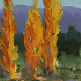 Maria Hunt - Walking the Wash In Sante Fe