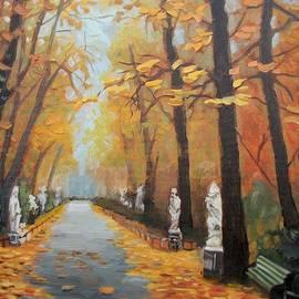 Elena Sokolova - Autumn in Summer Garden