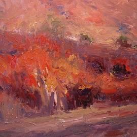 R W Goetting - Autumn in twilight