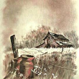 Carol Wisniewski - Autumn in View at Mac Gregors Barn