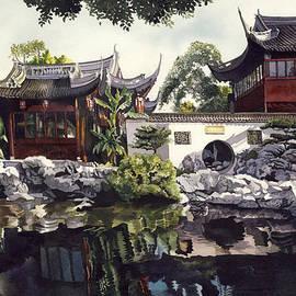 Alfred Ng - Autumn Lake reflection