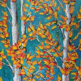 Beverly Livingstone - Autumn-Leaves- Aspen Trees