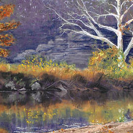 Lorraine McFarland - Autumn on the Meramec