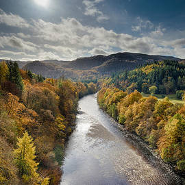 Dave Bowman - Autumn on the River Garry