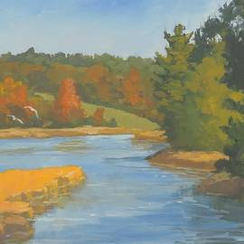 Bill Tomsa - Autumn on the Sheepscot