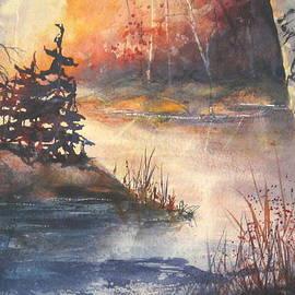 Madelaine Alter - Autumn  Opeongo Lake  Algonquin Park