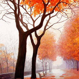 James Shepherd - Autumn Orange