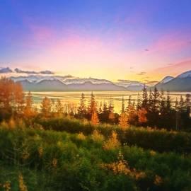 Georg Papp - Autumn Sunrise in Alaska