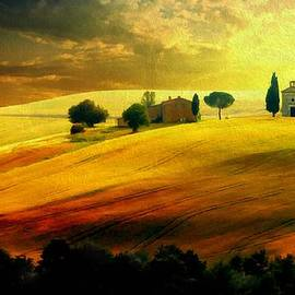 Lilia D - Autumn Sunset in Tuscany