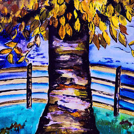 Kathleen Sartoris - Autumn Tree