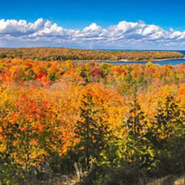 Mark David Zahn - Autumn Vistas of Nicolet Bay