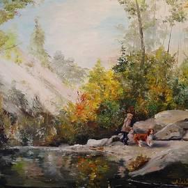 Alan Lakin - Autumn Walk