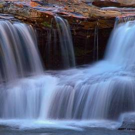 Mike Griffiths - Autumn Waterfall