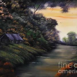 Cynthia Adams - Autumnal Cabin Canopy