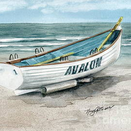 Nancy Patterson - Avalon Lifeguard Boat
