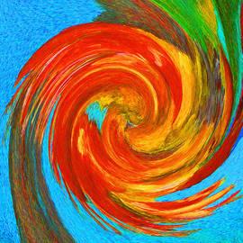 Margaret Saheed - Avian Swirl 3
