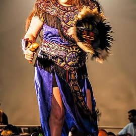 Catherine Fenner - Aztec Dancer