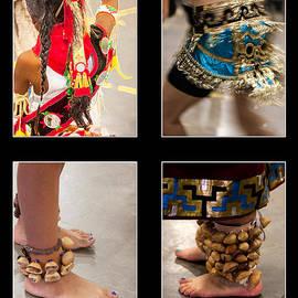 Janice Rae Pariza - Aztec Indian Collage