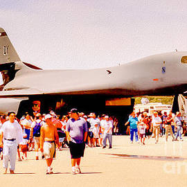 Bob and Nadine Johnston - B1 Lancer El Toro Marine Base California