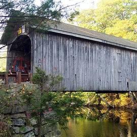 Catherine Gagne - Babbs Covered Bridge in Maine
