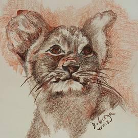 Deborah Gorga - Baby Lion