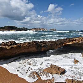 Pedro Cardona - A part of Binimel-la beach in Minorca - Back to eden