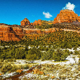Bob and Nadine Johnston - Backcountry Panorama Sedona