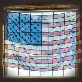 Photographic Arts And Design Studio - Backlit American Flag