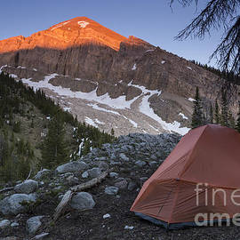 Mike Cavaroc - Backpacking Tent Under Evening Light