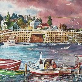Joy Nichols - Bailey Island Cribstone Bridge