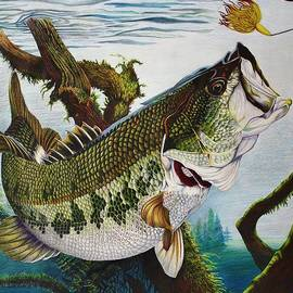 Bruce Bley - Baiting the Big One