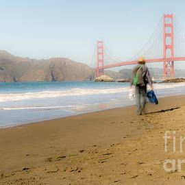 Amy Fearn - Baker Beach - Golden Gate Bridge
