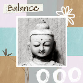 Linda Woods - Balance- Zen Art