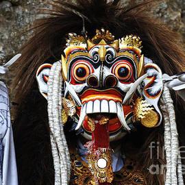 Bob Christopher - Bali Traditional Berong Mask