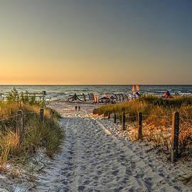 Julis Simo - Baltic Sea Summertime Beach in Leba in Poland