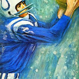Big 88 Artworks - Baltimore Colts 1966 Vintage Print